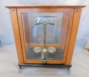 Analytical Apothecary / Pharmaceutical Balance Scale Genuine Vintage Antique