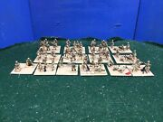 Japanese Army Infantry Company Painted Figures X58 20mm Lot 326