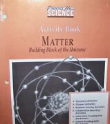 Activity Book, Matter-building Block Of Universe Prentice By None Listed New