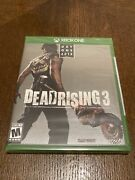 Dead Rising 3 Day One Edition Xbox One Factory Sealed • Free Shipping