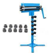 Us Manual Bender Bead Roller For Sheet Metal Bending With Cutting Capacity 1.2mm