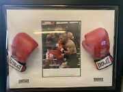 🔥 A1 Officially Certified Mike Tyson And Frank Bruno Signed Boxing Gloves 🥊 🔥