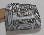 Vintage Wooden Printing Blocks Hand Carved Textile Fabric Stamps 12736