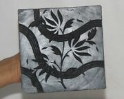 Vintage Wooden Printing Blocks Hand Carved Textile Fabric Stamps 12738