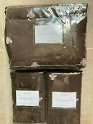Restoration Hardware Euro Embroidered Bee Full-queen Duvet And 2 Pillow Shams