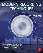 Modern Recording Techniques Audio Engineering Society By David Miles Huber Vg