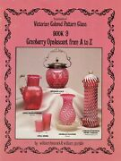 Cranberry Opalescent Glass Makers Patterns Scarce / Illustrated Book + Values