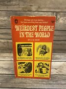 Rare - The Weirdest People In The World By C.b. Colby 1965 Popular Library