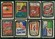 1974 Topps Wacky Packages Series 8 Near Complete Set 28 Of 30 Exmt