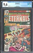Eternals 2 Marvel 1976 Cgc 9.6 White Nm+ 1st Ajak And The Celestials Mcu 2021