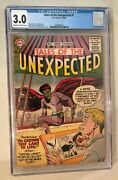 Tales Of The Unexpected 1 Cgc 3.0 1956 Dc Cream To Off-white Bill Ely