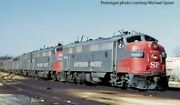 Walthers Ho Emd Fp7+f7b Southern Pacific Sp 6454 Dc Led
