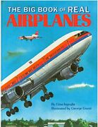 Big Book Of Real Airplanes By Gina Ingoglia - Hardcover
