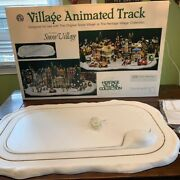 Department 56 Snow Village Series Village Animated Track 52642 Not Working
