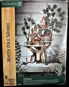 Dept 56 North Pole Woods Town Meeting Hall 56.56880 - 100 Mint
