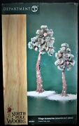 Dept 56 North Pole Woods - Village Accessories Pinewooid Trees, Large 56.56924