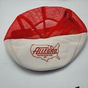 National Allegro Motor Home Club Hat Cap Red Adult Used Snapback R8