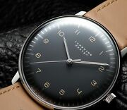 Junghans Max Bill Watch Automatic Stainless Steel Automatic Winding Dial Gray