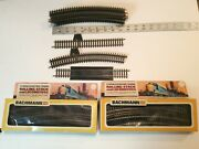 Collectible Bachmann Model Railroad Tracks38 Total Tracksno Damage As-is T404a