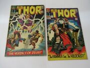 Mighty Thor 127 129 1st Appearance Ares Pluto Hippolyta Silver Age Comic Lot Key