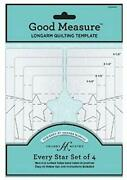 Good Measure Every Star 4 Pc Quilting Template