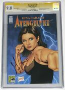 Avengelyne 1 Cgc Ss 9.8. Sdcc 2013 Ed. Signed By Gina Carano And Liefeld. Lone 9.8