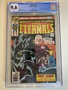 The Eternals 1 Cgc 9.6 Nm+ Origin And 1st Appearance Of Eternals - Well Centered