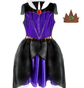 Adult Snow White Evil Queen Witch Costume Disney Store Authentic Merchandise New
