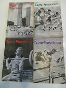 Complete Set Of All 16 Daily Prgs From 1936 Summer Olympics In Berlin Germany