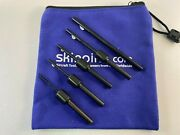 Aircraft Tools New 5pc Dia Burraway In / Out Deburring Tool Set In Pouch