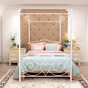 Canopy Bed Frames Full Size With Vintage Headboard And Footboard Metal Bed No