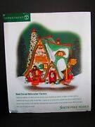 Dept 56 - North Pole Series - Hand Carved Nutcracker Factory 56.56753 - Mib