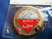Eod Operation Enduring Freedom Grim Reaper Mines Deployment Coin Challenge Coin