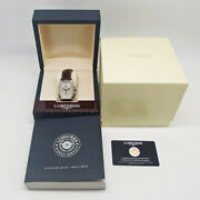 Longines Evidenza L2.643.4.73.4 Automatic Date Chronograph Watch W/ Box And Papers