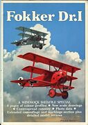 Fokker Dr. I - A Windsock Datafile Special By Ray Rimell Excellent Condition