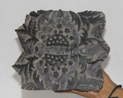 Vintage Wooden Printing Blocks Hand Carved Textile Fabric Stamps 12852