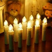 Led Candlelight Battery-powered Christmas Decoration Lights 10 Pieces 66