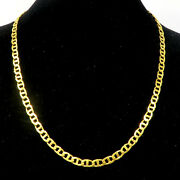 Nyjewel Chow Sang Sang 周生生 24k Gold 9999 Investment Anchor Chain Necklace 17.75