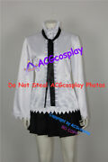 D.gray-man Road Kamelot Cosplay Costume With Black Tie And Long Stockings