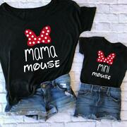 Family Tshirts Fashion Mommy And Me Clothes Baby Girl Clothes Mini And Mama Fash