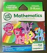 New - Leap Frog My Little Pony Math K-2 Leap Pad 1 2 3 Gs Ultra Factory Sealed