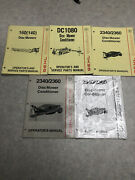 Gehl Disc Mower Conditioner Operators And Service Parts Manuals Lot