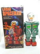 Rare Vintage Mego Plastic Space Toy Robot Lunar Spaceman Boxed - Not Working