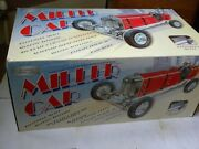 Boxed Gilbow Miller Tinplate And Diecast Clockwork Car - Rn2 Red Body 1210