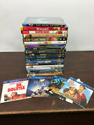 Kid Lot Of 23 Dvd Movies - Harry Potter, Star Wars, Narnia, Simpsons And More