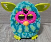 Hasbro 2012 Furby Boom Peacock Teal Blue Green Electronic Interactive Toy