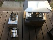 Brand New Stainless Steel Chimney Cap Offset Box And Adapters