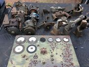 Ww2 Generator Parts Lot..governors, Gauges, Jeep Willys