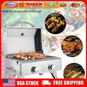 Outdoor Foldable Leg Gas Grill Portable 2000 Btu Barbecue Grid Small Grill Us
