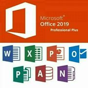 Microsoft Office 2019 Professional Plus - Word Excel Outlook Powerpoint - Neu